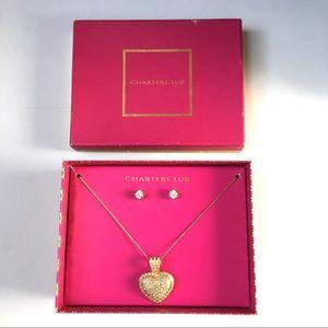 Charter Club jewelry set